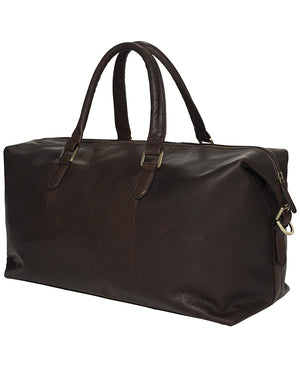 Berkeley Woodley Overnighter Bag-Bags-Classic fashion CF13-Dark Brown-Classic fashion CF13