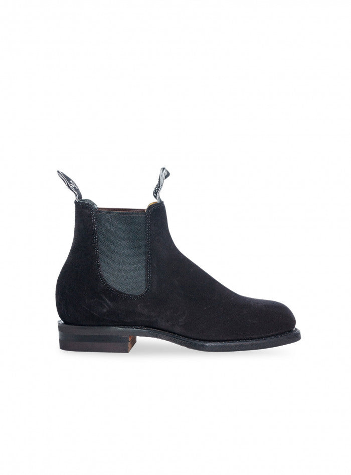 R.M. WILLIAMS - WENTWORTH G-LAST SUEDE BLACK