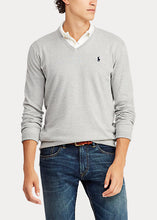 Load image into Gallery viewer, Polo Raplh Lauren Cotton V-Neck Jumper