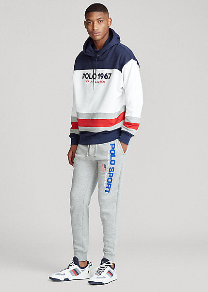 Polo Ralph Lauren Colour-Blocked Fleece Hoodie