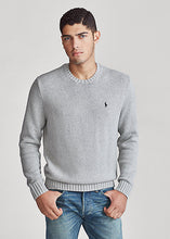 Load image into Gallery viewer, Polo Ralph Lauren Iconic Cotton Crewneck Jumper