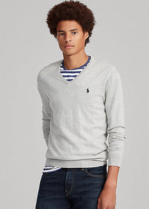 Polo Raplh Lauren Cotton V-Neck Jumper