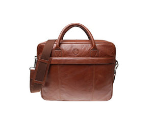 Saddler Sundsvall Male Computer Bag-Bags-Classic fashion CF13-Brown-Classic fashion CF13