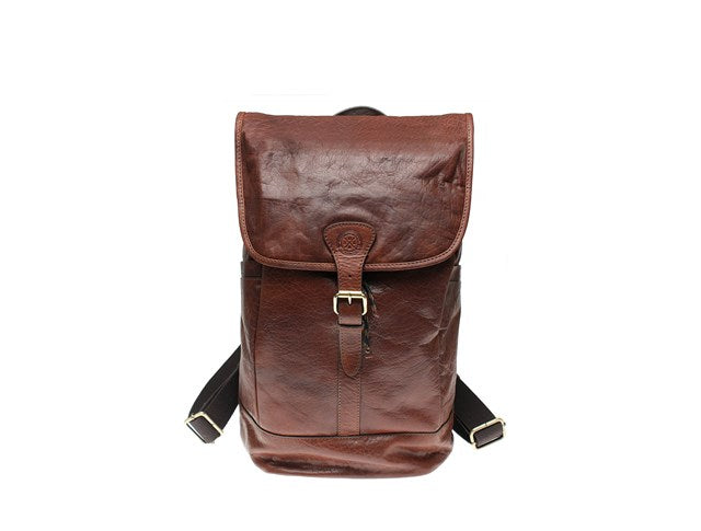 Saddler Tottenham Backpack-Bags-Classic fashion CF13-Brown-Classic fashion CF13