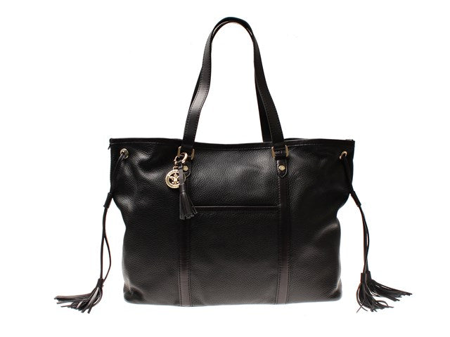Morris Shirley Tote Bag-Bags-Classic fashion CF13-Black-Classic fashion CF13