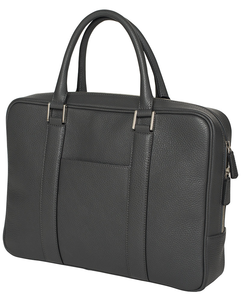 Berkeley Varese Briefcase-Bags-Classic fashion CF13-Ash Grey-Classic fashion CF13
