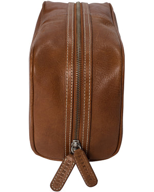 Berkeley Cowentry Wash Bag-Bags-Classic fashion CF13-Brown-Classic fashion CF13