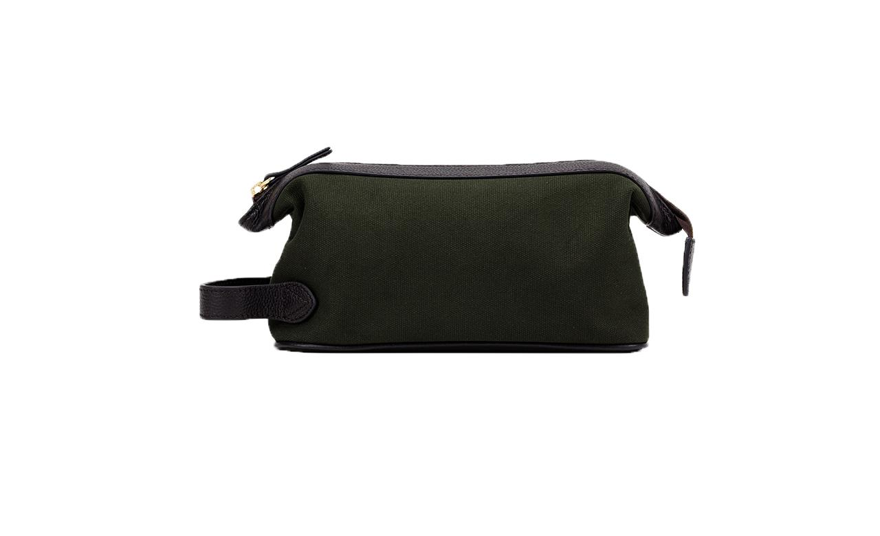 Baron Canvas Wash Bag-Bags-Classic fashion CF13-Green-Classic fashion CF13