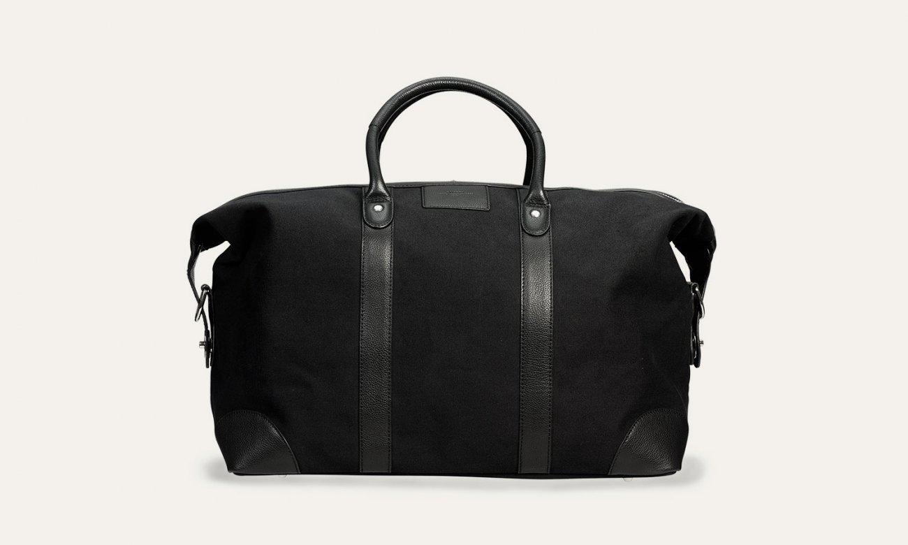 Baron Canvas Weekend Bag-Bags-Classic fashion CF13-Black-Classic fashion CF13