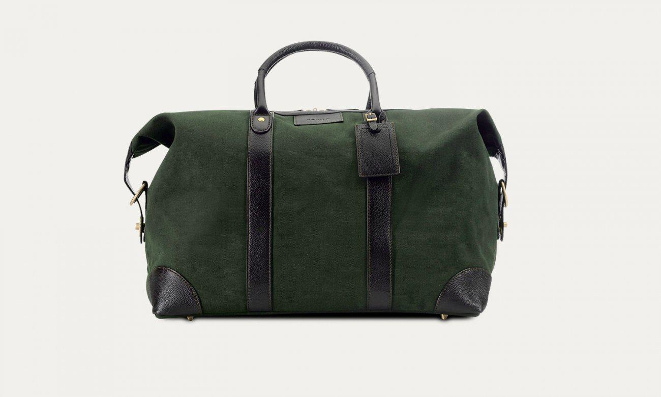 Baron Canvas Weekend Bag-Bags-Classic fashion CF13-Green-Classic fashion CF13