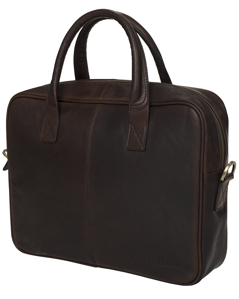 Berkeley Woodley Computer Bag-Bags-Classic fashion CF13-Dark Brown-Classic fashion CF13