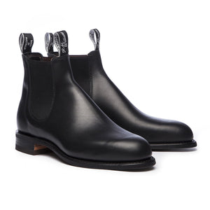 RM Williams Wentworth Shoes-Shoes-Classic fashion CF13-40-Black-Classic fashion CF13