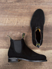 Load image into Gallery viewer, RM Williams Wentworth Suede Shoes-Shoes-Classic fashion CF13-40-Black-Classic fashion CF13