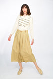 Chic pleatted skirt