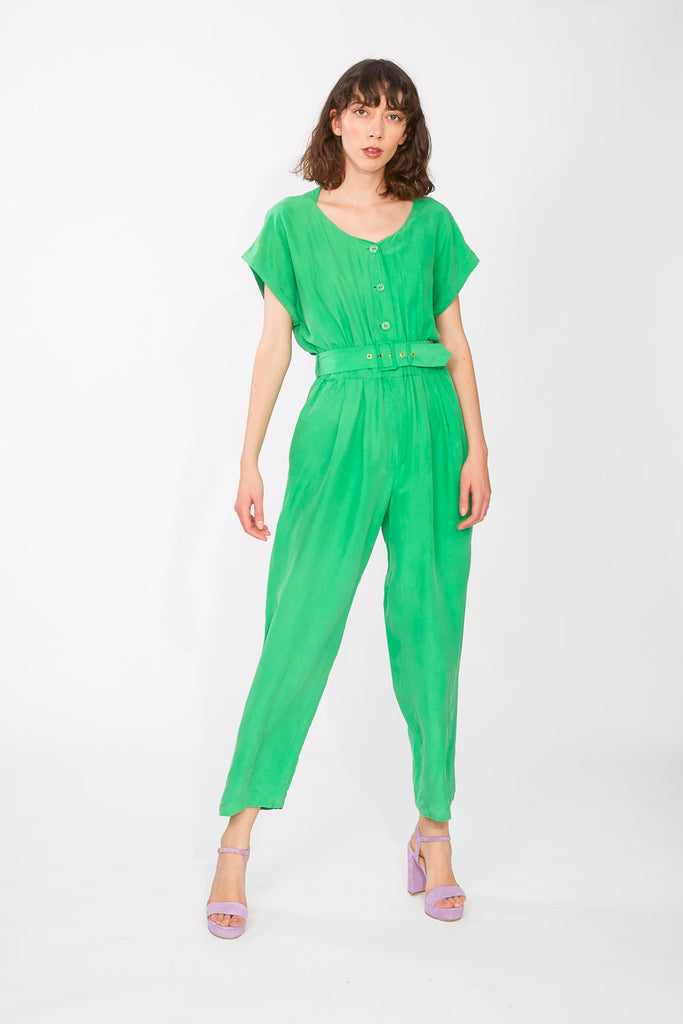 Green Betty Barclay jumpsuit