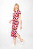 Groovy 60s maxi dress