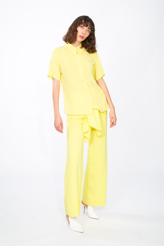 Canary yellow shirt