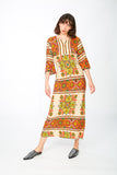 Ethnic kaftan dress