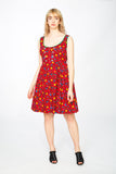 Original Tirol red dress