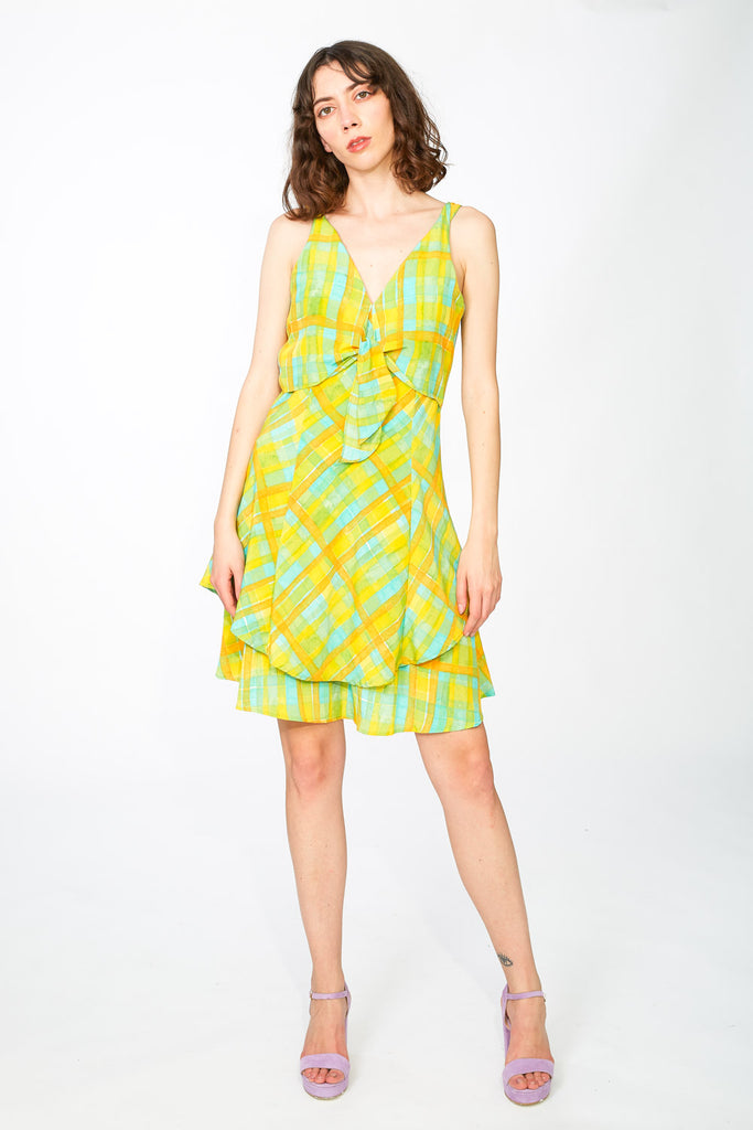 Colourful summer dress