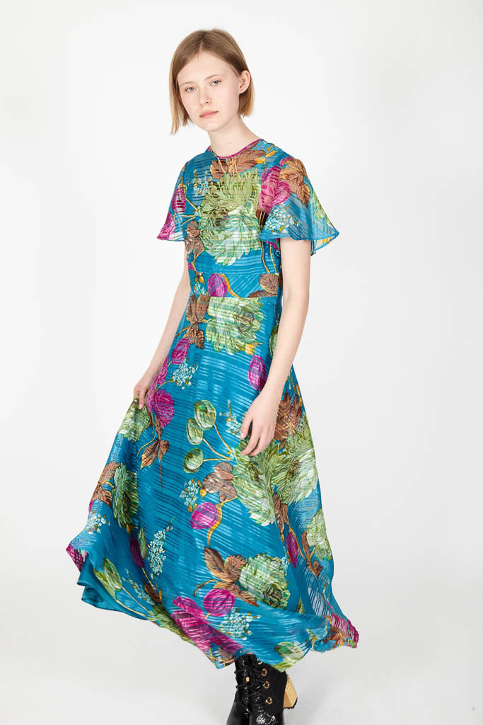 Colourful 70s Dress