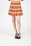 70s striped mini skirt