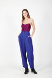 Purple 70s pants