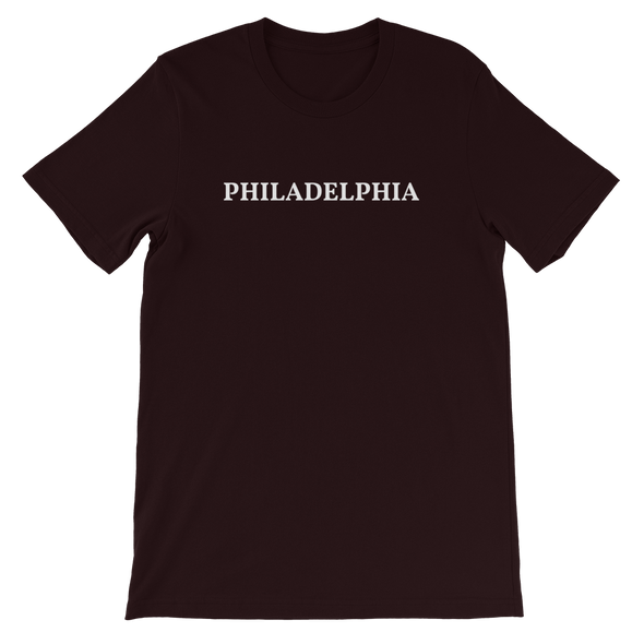 Philadelphia White Logo T-Shirt
