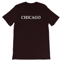 Chicago White Logo T-Shirt