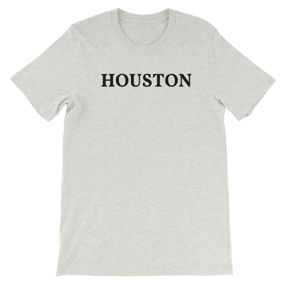 Houston Black Logo T-Shirt