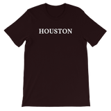 Houston White Logo T-Shirt