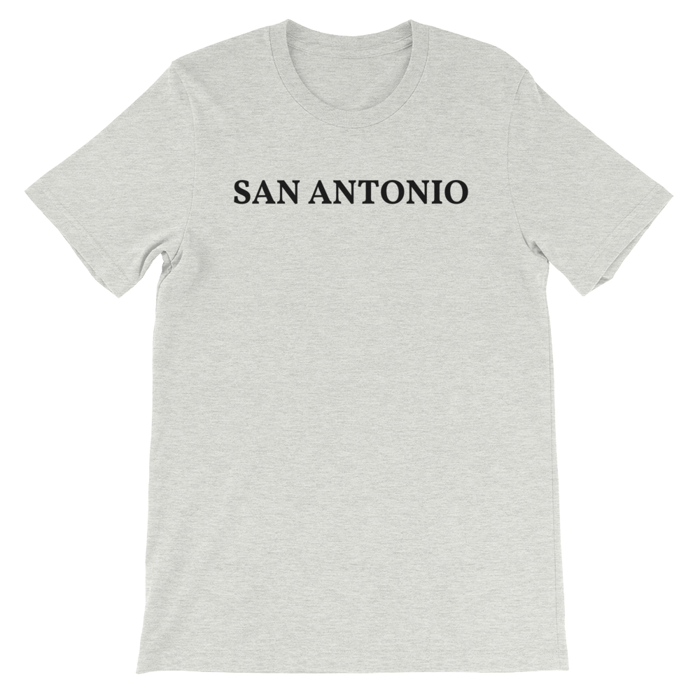 San Antonio Black Logo T-Shirt