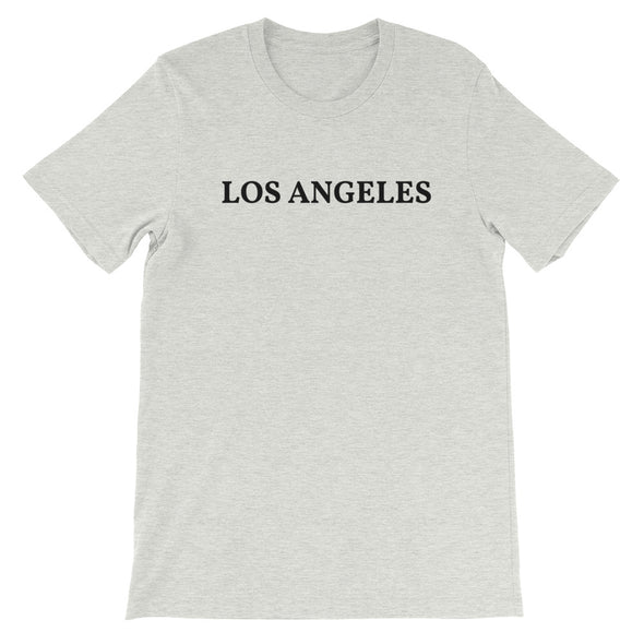 Los Angeles Black Logo T-Shirt
