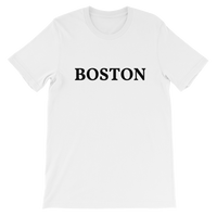 Boston Black Logo T-Shirt