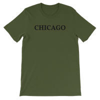 Chicago Black Logo T-Shirt