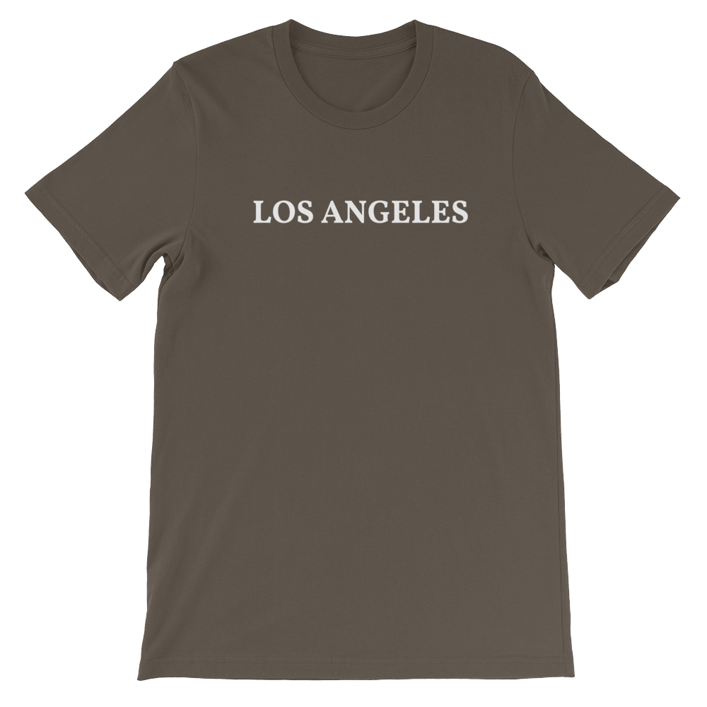 Los Angeles White Logo T-Shirt