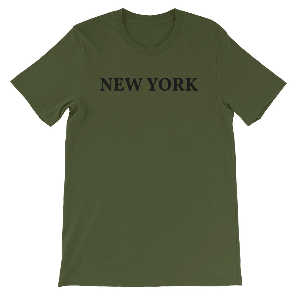 New York Black Logo T-Shirt