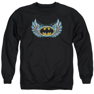 Batman - Steel Wings Logo Adult Crewneck Sweatshirt