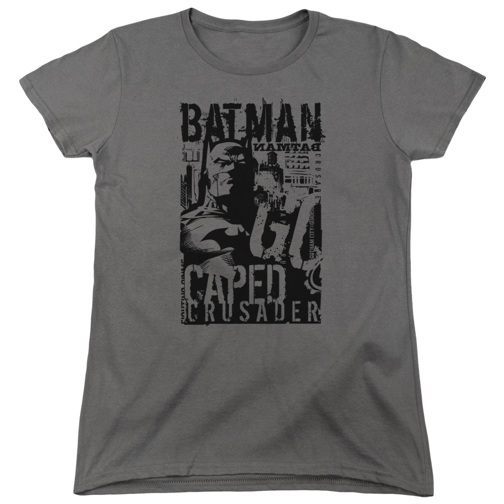Batman - Caped Crusader Short Sleeve Women's Tee