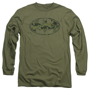 Batman - Marine Camo Shield Long Sleeve Adult 18/1
