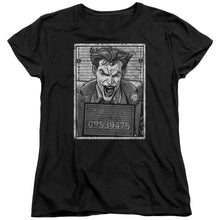 Batman - Joker Inmate Short Sleeve Women's Tee