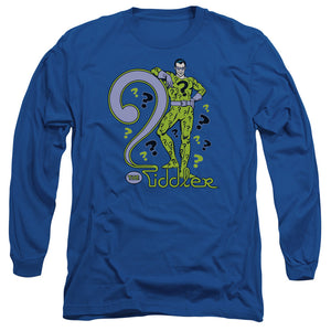 Dc - The Riddler Long Sleeve Adult 18/1