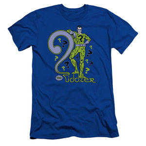 Dc - The Riddler Short Sleeve Adult 30/1