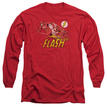 Dc - Crimson Comet Long Sleeve Adult 18/1