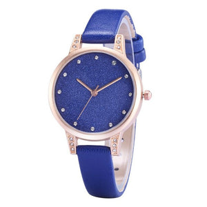 Fashion Ladies  Wrist Watches Elegant Women Fashion Quartz wrist watch Lady womens Crystals Dress Watch Clock reloj mujer