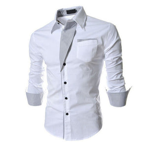 Stylish Bursts of British Sundries Men's Button Up Shirt