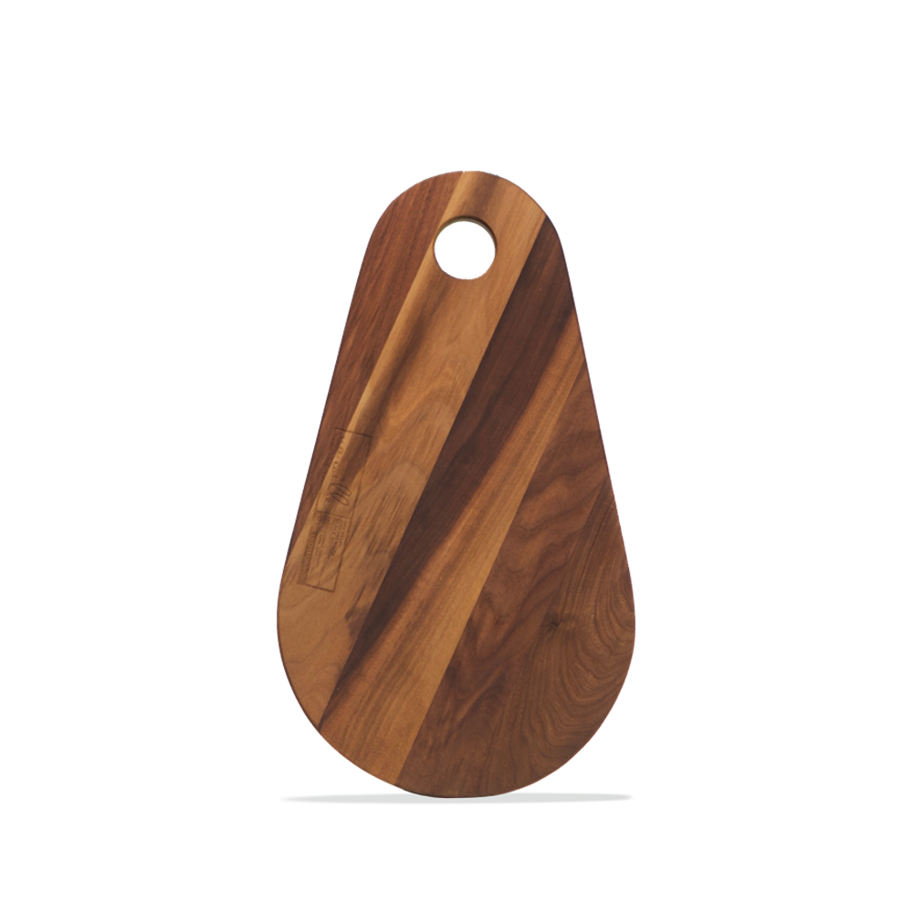 Handmade in Ottawa - Laminated Black Walnut Cutting Board - Beaver Tail