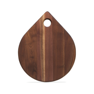 Laminated Walnut Cutting Board - Tear Drop