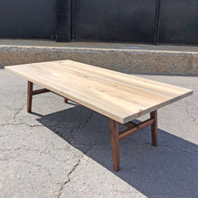 Walnut and Maple Coffee Table Ottawa