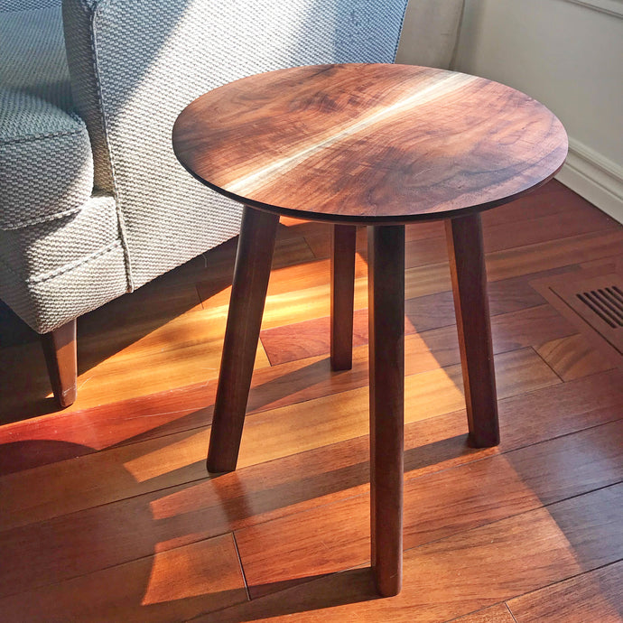 Mid Century Walnut Side Table Ottawa